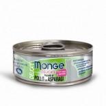 Monge Super Premium 系列 貓罐頭 80g - 雞肉+蘆筍