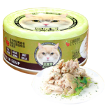 Petsgoal x 忌廉哥 吞拿魚+紫菜 貓罐頭 70g