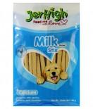 JerHigh 狗小食 Jer09-100g 牛奶雞肉條 100g