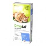 Bayer Drontal Cat 杜蟲丸 (貓用) 8粒散裝