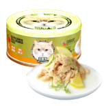 Petsgoal x 忌廉哥 三文魚+魚湯 貓罐頭 70g