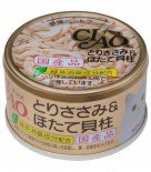 CIAO C21 雞+瑤柱  貓罐頭 80g