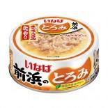 前浜の魚 吞拿魚+雞肉+鰹魚 濃湯貓罐頭 IWF-161 115g x 6罐同款優惠