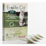 Solano -ES044 Ecolife Cat 純天然貓用驅蚤滴頸劑 一盒四支(over 4kg)
