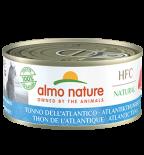 almo nature [5125] - HTC 150g大罐系列 Atlantic Ocean Tuna 大西洋吞拿魚 貓罐頭 150g x 24罐原箱優惠