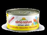 almo nature legend chicken filiet 雞柳片貓罐頭 70g