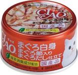 CIAO A87 吞拿魚吞拿魚乾啫喱貓罐頭 80g x 24罐原箱優惠