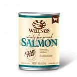 Wellness 89404 95%無穀物鮮三文魚肉狗罐頭 13.2oz