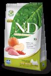 N&D BOAR & APPLE ADULT MINI 無穀物全犬配方 蘋果&野豬 (細粒) 07kg