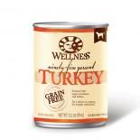 Wellness 89403 95%無穀物鮮火雞肉狗罐頭 13.2oz