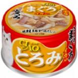 CIAO A53 帶子濃湯 雞肉+吞拿+魷魚 貓罐頭 80g