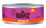 RAWZ 96% RZCR156 兔肉肉醬全貓罐頭 156g