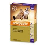 Bayer Advocate 心疥爽貓用滴劑 4~8kg 1盒3支