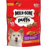 Milk-Bone® Puffs® 煙肉花生醬脆脆餅乾 8oz