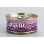 Kakato 804 雞+牛肉絲 170G