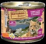 NATURAL GREATNESS NGCC01A 頂級貓罐頭 兔肉和鴨肉 200g x 6罐同款優惠