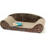 瓦通紙貓抓板 - 梳化形 24吋長