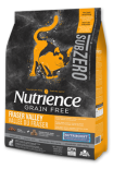 Nutrience SubZero 冷凍脫水鮮雞肉 無穀物雞+火雞+海魚 全貓配方 5LB