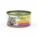 Feline Gourmet FG70-3 化毛球 吞拿魚+蟹柳 80g x 24罐原箱優惠