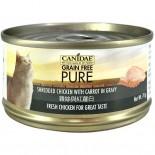 Canidae 雞絲與紅蘿蔔貓罐頭 70g x 24罐原箱同款優惠