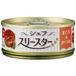 AIXIA 廚房三星級 吞拿魚+鰹魚貓罐頭 TS-1 60g x 6罐優惠