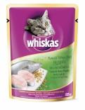 Whiskas 偉嘉 妙鮮包 - 鮪魚+ 鯛魚 (Tuna & White Fish) 85g