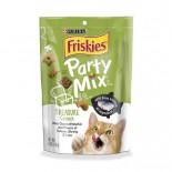 Friskies 喜躍 Party Mix 鬆脆貓小食袋裝三文魚, 蝦及吞拿魚 170g