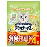 日本 Unicharm 消臭大師 滲透式沸石貓砂 2L