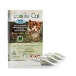 Solano -ES037  Ecolife Cat 純天然貓用驅蚤滴頸劑 一盒四支(0.8-4kg)