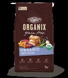 Organix USDA 無穀物犬糧-有機幼犬配方10lb