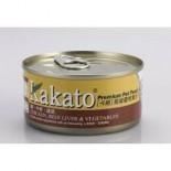 Kakato 836 雞+牛肝+蔬菜 170G