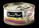 Fussie Cat FU-YLC 吞拿魚+雞貓罐頭 80g