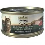 Canidae 白身吞拿魚,雞肉與鯛魚貓罐頭 70g x 24罐原箱同款優惠