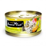 Fussie Cat FU-RDC 吞拿魚+蝦貓罐頭 80g x 24