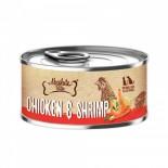 Absolute Bites [AB2548] 風味雞+鮮蝦 無穀物 罐頭 80g x 24罐原箱優惠