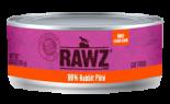 RAWZ 96% RZCR156 兔肉肉醬全貓罐頭 156g x 24 罐原箱優惠