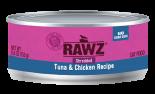 RAWZ 96% RZCTC155 吞拿魚及雞肉肉絲全貓罐頭 155g x 24 罐原箱優惠