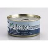 Kakato 833 雞+吞拿魚+蔬菜 170G