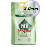 N1 Naturel 玉米豆腐貓砂 (綠茶味) *2.0幼條*   17.5L