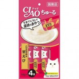 Ciao SC-142 雞肉+甜蝦醬 14g(4本) x 2包優惠