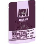AATU 97/3/0 ATWCC85 全配方貓濕糧包 雞+鵪鶉 85g