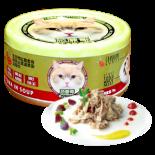 Petsgoal x 忌廉哥 吞拿魚+花鯖魚 貓罐頭 70g
