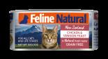 F9 Feline Naturals [K9-C- CV85] 貓罐頭 85G - 雞肉及鹿肉 x 24罐原箱優惠