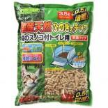 日本Clean Mew 滲透式廁所專用木砂3.5L + 0.5L