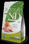 N&D BOAR & APPLE 無穀物全貓配方 野豬&蘋果 01.5kg