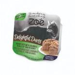 Zoe ZO503 開心雙層法式貓餐盒 - 三文魚佐吞拿魚片80g x 24罐同款優惠