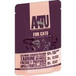 AATU 97/3/0 ATWCS85 全配方貓濕糧包 雞+三文魚+蝦 85g