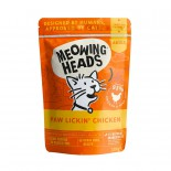 Meowing Heads [MHWC] - 無穀物Paw Lickin' Chicken主食濕包 100g