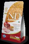 N&D 天然低敏低穀系列 石榴+雞肉絕育貓糧 5kg