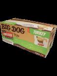 Big Dog 急凍狗糧火雞配方 3kg ( 12件x 250g )